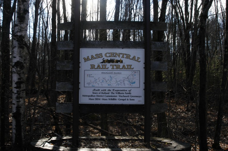 Mass Central Rail Trail – Wachusett Sections in Rutland – Rutland MA