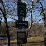 Bronx River Pathway Sign