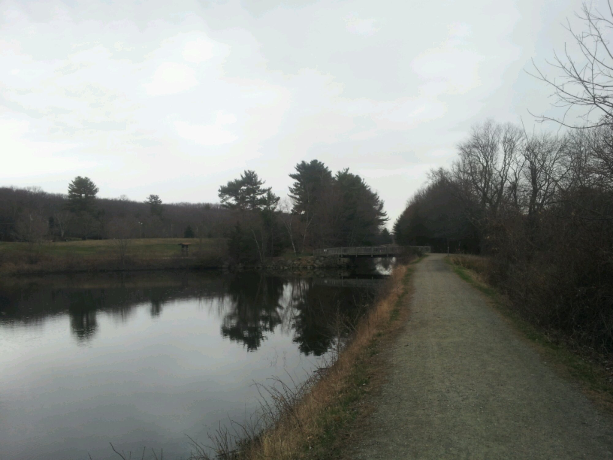 Blackstone Canal Towpath Walk – Uxbridge, MA